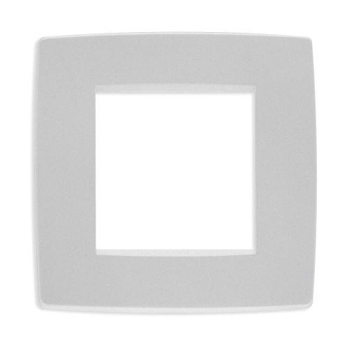 Ramka ozdobna 2M srebrny matowy