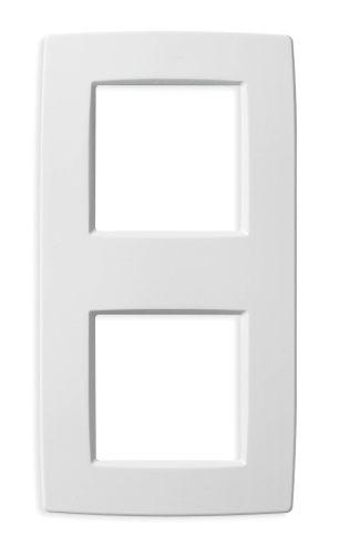 Ramka ozdobna 4M (2+2) biała