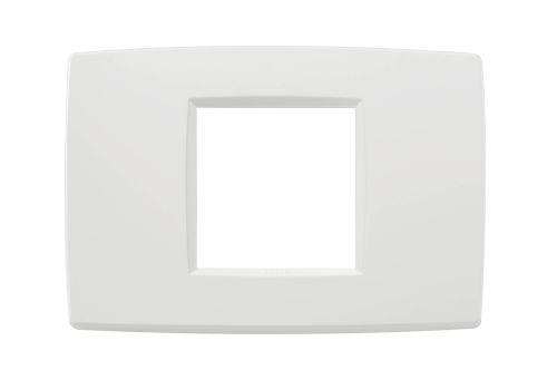 Ramka ozdobna 2M-centralna biała