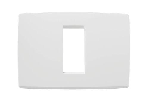 Ramka ozdobna 1M-centralna biała