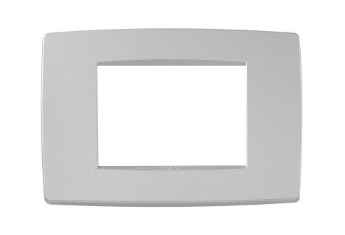 Ramka ozdobna 3M matowy srebrny