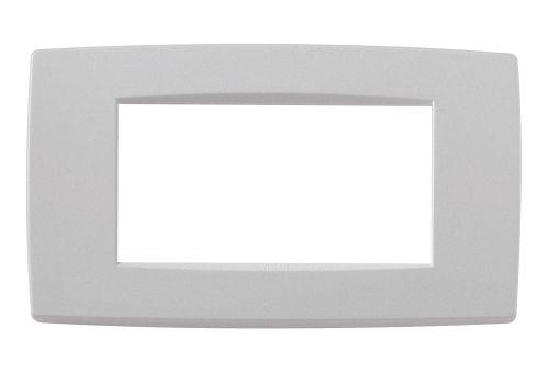 Ramka ozdobna 4M matowy srebrny