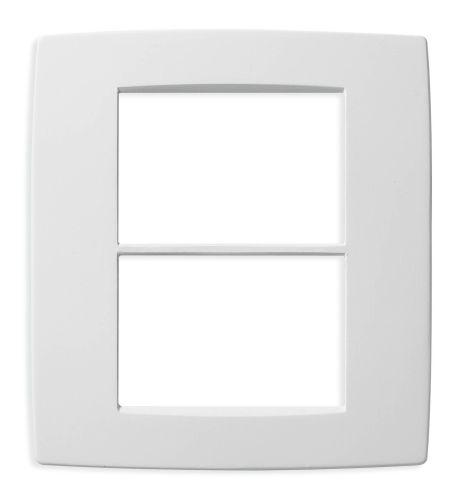 Ramka ozdobna 6M (3+3) biała