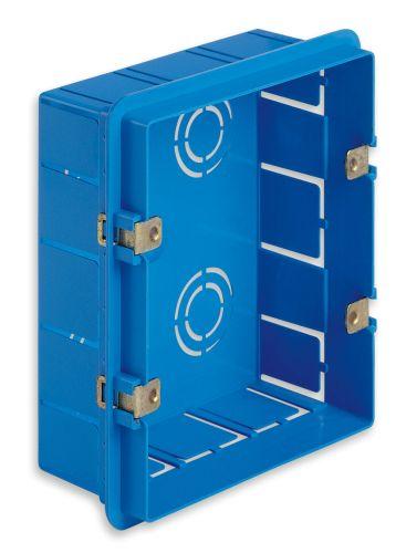 Puszka montażowa 6M (3+3) niebieska