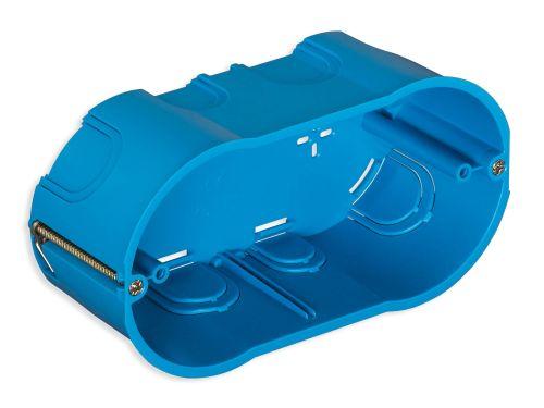 Puszka montażowa do œcian gipsowych 4M niebieska